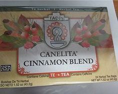 Canelita Cinnamon Blend Herbal Tea 24 bags * You can find more details by visiting the image link. Note: It's an affiliate link to Amazon.