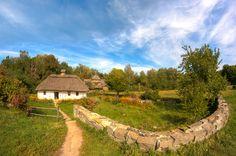 Ukrainian village by Ivan Gagarin, via 500px.
