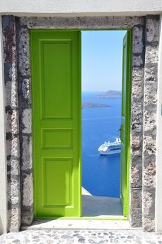 Santorini, Greece @}-,-;--