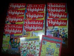 Highlights Magazines and Puzzlemania  Lot 16 Childrens 2014 2015 New SHIPS FAST