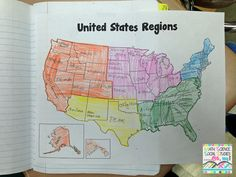 Foldable Friday: US Regions
