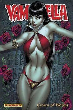 VAMPIRELLA VOL. 1: CROWN OF WORMS TRADE PAPERBACK/Search//Home/ Comic Art Community GALLERY OF COMIC ART