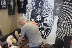 Tattoo Convention Offenbach Tebori Hannya by mirko Linke