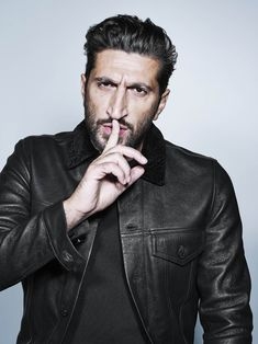 """Fares Fares again, one of the """"stars"""" of this Pinterest series, and quite possibly the world's most beautiful man"""