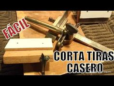 Leather Working Tools, Router Bits, Craft Work, Leather Craft, Youtube, Geek Stuff, Leather Pieces, Tools, Ideas
