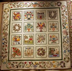 Barbara Korengold on Applique Quilts | R. John Howe: Textiles and Text