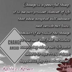 Karla's Korner: Tearing Down The Walls of Solitude