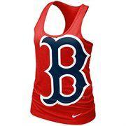 Nike Boston Red Sox Ladies Cotton Tank Top - Red