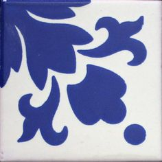 FLOR PUNTO - Patterned Tile - Mexican Tile Designs