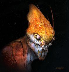 ArtStation - bug head , Jonathan Kuo