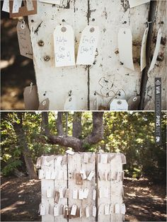 hand written escort cards | CHECK OUT MORE IDEAS AT WEDDINGPINS.NET | #weddings #weddingseating #weddingdecoration