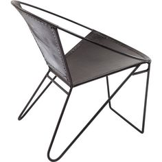 Chair Bucket Black - KARE Design #kare #karedesign #chair #armchair #bucket #black #leather #steel #industrial #circle #purist #unique #individual #design