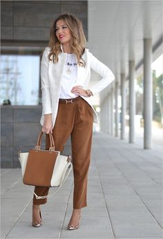 45 Beautiful Work Outfit Ideas for Women In Flats 99 Business Casual for Women with Feminine Look 2018 3