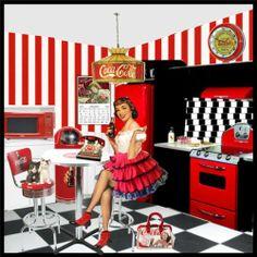 coca cola kitchen | Coca Cola Kitchen - Polyvore