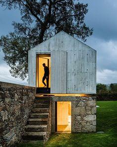 The Dovecote (54 sqm) Braga Portugal by AZO Arquitectos