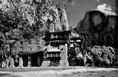 The Inn of the Dragon was always quiet during the day but at night it was  a place of revelry!  Photo by Ansel Adams