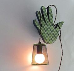 boho decor  - Houndstooth - wall light - handcrafted - Bohemian op Etsy, 48,58 €