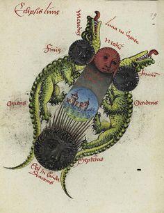 Universitätsbibliothek Heidelberg. Vatican, Biblioteca Apostolica Vaticana, Pal. lat. 1879, f. 79r.  Johannes Virdung, Prognostica 1493. Astrologische Prognostik mit Widmung und Begleitschreiben.