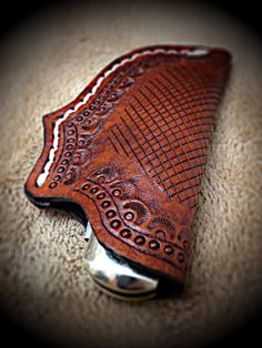 Leather Knife Sheath by John Black