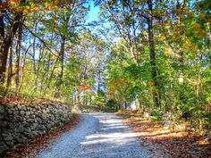 Down this gently winding gravel road, just beyond the stone wall you'll find one of the most unique accommodations in all of Virginia.