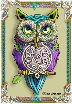 'Celtic Owl' from Deva-Arts by Sandra I. Bernal