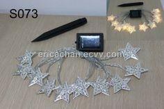 12 LED Star solar powered string light (S073) - China Star solar powered string light, OEM String Lights, Solar Power, Oem, China, Stars, Garden, Garten, Fairy Lights, Sterne