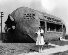 The Tamale restaurant located at 6421 Whittier Boulevard East Los Angeles - 1930's