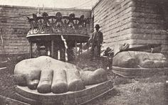 Assembly of the #Statue of #Liberty