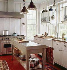 Cottage Kitchen Decorating and Design Ideas