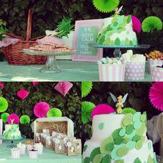 Mesa dulce campanilla  Cande bar para cumpleaños