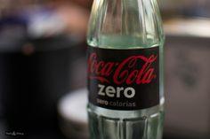 Botella de Coca-Cola Zero || Coca-Cola Zero bottle.  La chispa de la vida by Tsuki Sirang on 500px