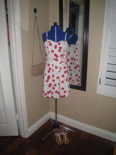 Cherry summer dress from Macy's