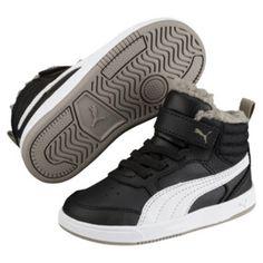 999de7d5d9b312 Thumbnail 3 of Kinder-Sneaker PUMA Rebound Street v2 Preschool in  Black-White-