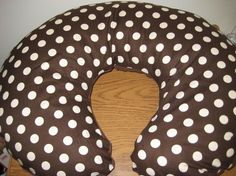 Baby/Toddler Nursing Pillow Cover by ThePinkPolkaDotStore on Etsy, $8.99