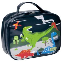Bobble Art Dinosaur Lunch Box / Lunch Bag www.partytwinkle.com.au FREE delivery on minimum purchase
