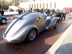 1936 Bugatti Type 57SC Atlantic / My favorite car in the world. http://amzn.to/2rRzuzL