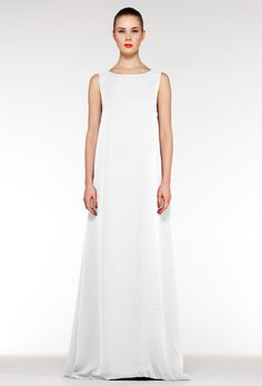 #aqua Egg Maxi Dress - Cream