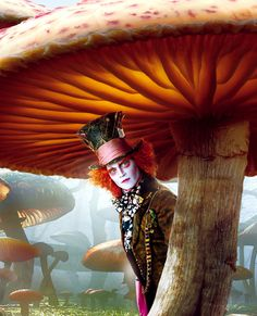 Alice in wonderland, another movie that Johnny Depp enlightens :)