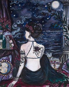Honouring Lady Bastet by ArtbyLadyViktoria on Etsy