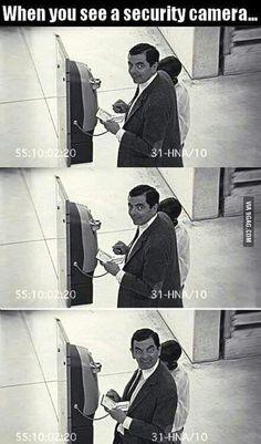 Funny surveillance footage