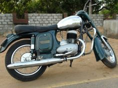 1966 Jawa 353 Classic Motorcycle Pictures