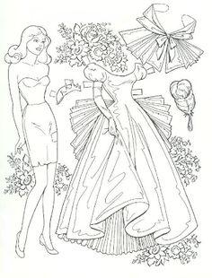 color me Cinderella paper doll Paper Art, Paper Crafts, Paper Doll Craft, Paper Dolls Book, Paper Dolls Clothing, Paper Dolls Printable, Vintage Paper Dolls, Coloring Book Pages, Colored Paper
