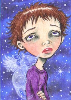 ACEO - Missing You by KootiesMom on deviantART
