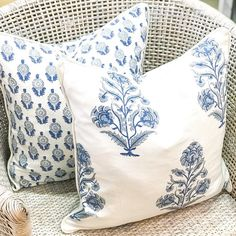 """Florist, Home & Gift Store on Instagram: """"New in-store @thatprettymarket these beautiful #blueandwhite cushions from @zjoosh . I'll be putting these on the website later today. 50 x…"""" Gift Store, Home Gifts, Cushions, Throw Pillows, Website, Shop, Beautiful, Instagram, Toss Pillows"""