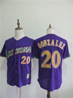 Arizona Diamondbacks #20 Luis Gonzalez Jerseys