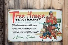 Tree House Gallery and Tea Room sign | Flickr - Photo Sharing!