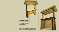 Bamboo Tiki Bar - Installation Guide and Instructions | Cali bamboo