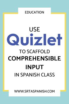 Are you looking for a way to get your students more comprehensible input? How about fun games you ca Spanish Classroom Activities, Learning Spanish For Kids, Teaching Spanish, Spanish Vocabulary, Listening Activities, Vocabulary Games, Learning Italian, Class Activities, Teaching French
