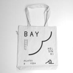 Bay Helsinki-painatus Salvage Recycle SA60 kassi