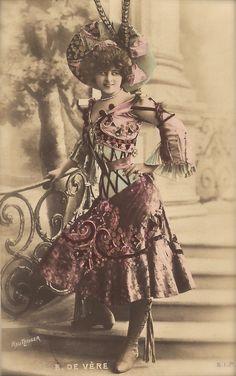 Elise de Vere actriz de teatro francés de por TheVintageProphecy